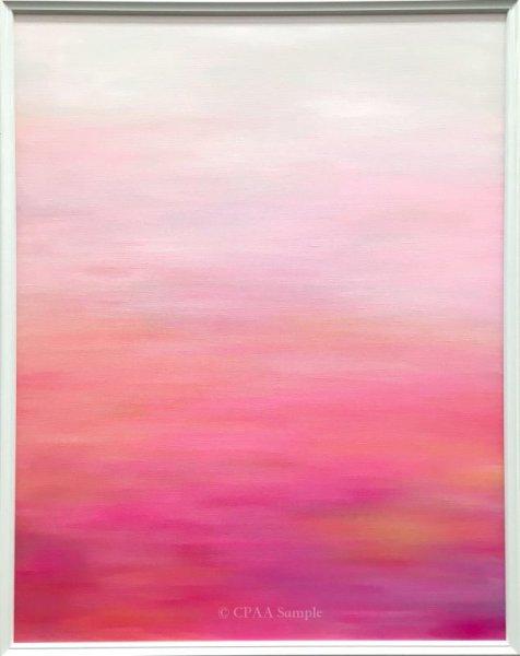 画像1: Color Psychology Art『Love』F30サイズ (1)